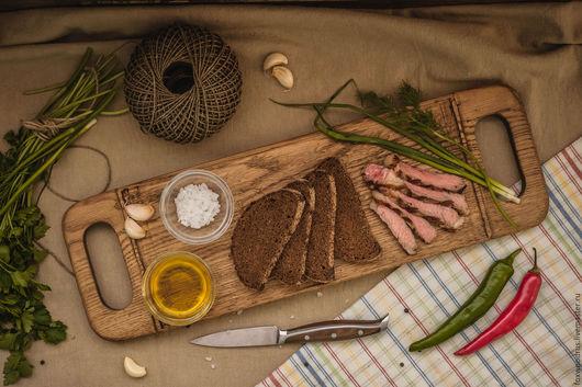 """Кухня ручной работы. Ярмарка Мастеров - ручная работа. Купить Доска для сервировки и подачи """"Хлеб-соль"""". Handmade. Подарок женщине"""