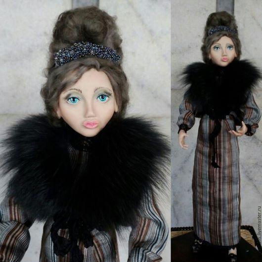 Коллекционные куклы ручной работы. Ярмарка Мастеров - ручная работа. Купить Джулия. Коллекционная интерьерная кукла из полимерной глины. Handmade.