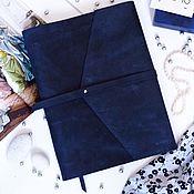 Блокноты ручной работы. Ярмарка Мастеров - ручная работа Кожаный блокнот на кольцах А4 выполнен из натуральной кожи Crazy Horse. Handmade.