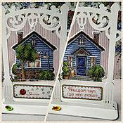 Для дома и интерьера handmade. Livemaster - original item Suspensions: Home sweet home. Handmade.