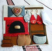 Куклы и игрушки handmade. Livemaster - original item Castle for a Prince. Handmade.