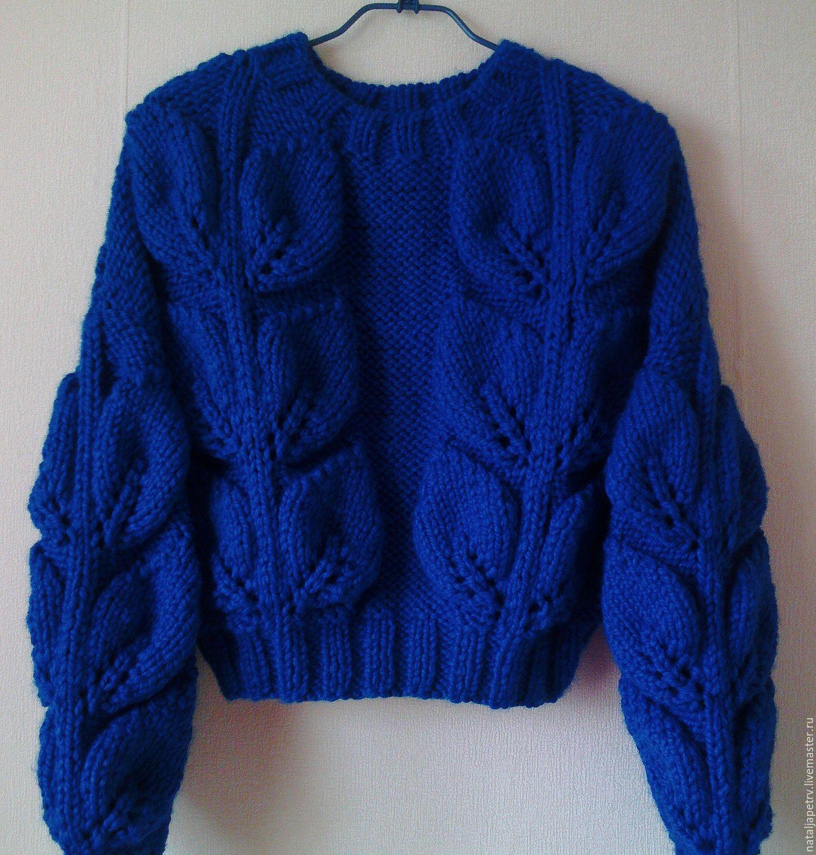 Как связать свитер на заказ