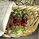 Серьги ручной работы. Ярмарка Мастеров - ручная работа. Купить Серьги из кожи и бусин Красная смородина. Handmade. серьги с подвесками