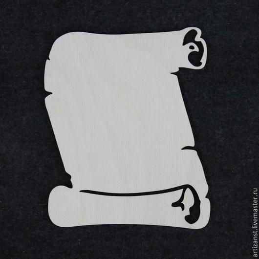 Декупаж и роспись ручной работы. Ярмарка Мастеров - ручная работа. Купить Арт. 13238 Панно Свиток. Handmade. Белый, Декупаж