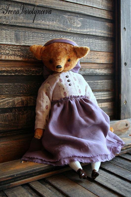Мишки Тедди ручной работы. Ярмарка Мастеров - ручная работа. Купить Лиса Амели нашла маму.. Handmade. Оранжевый