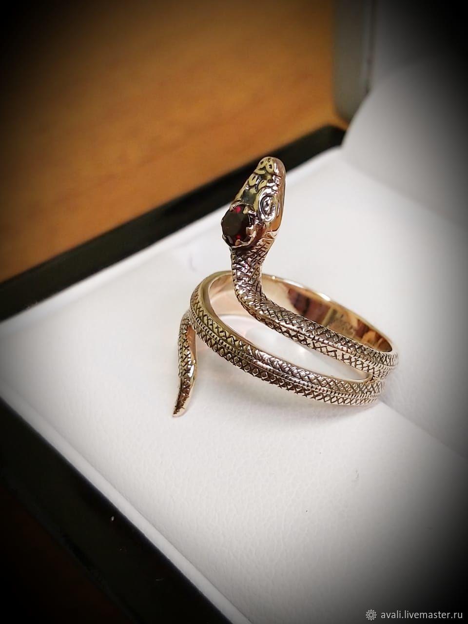 кольцо змейка картинки обволакивает