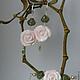 Серьги ручной работы. Ярмарка Мастеров - ручная работа. Купить Серьги Нежность розы. Handmade. Серьги для невесты, розовые серьги