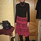 Юбка по мотивам юбки Патриция Пепе ,связана на заказ,размер 40 пряжа смесь шерсти,кашемира и ангоры-350г.Работа для примера,фото любезно предоставлено заказчицей.