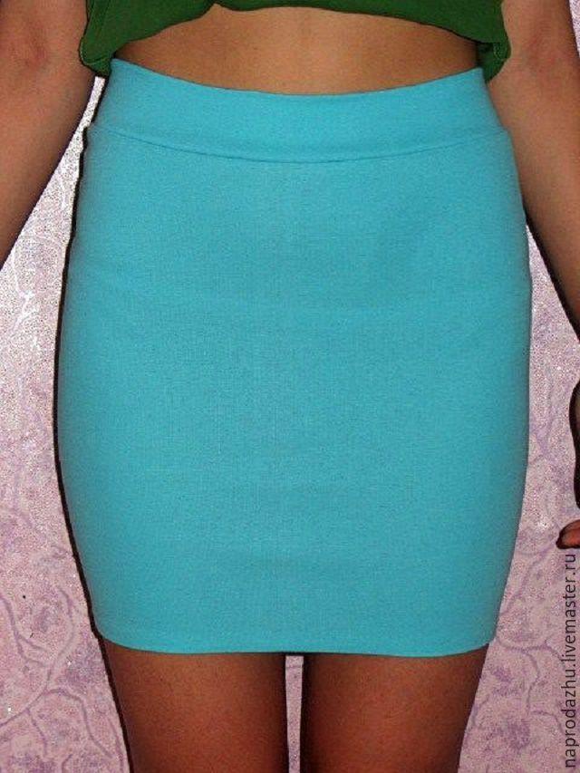 Узкая юбка на резинке