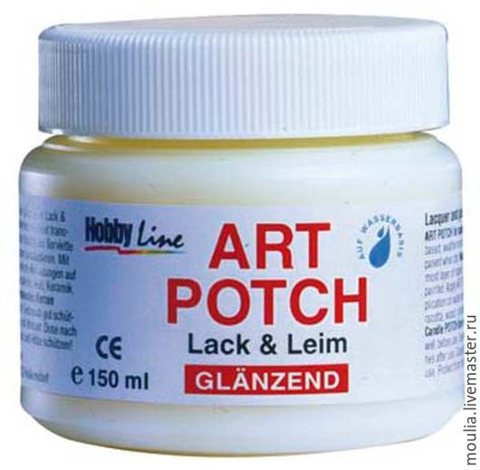 Клей Art-Potch Lack&Leim HobbyLine, на водной основе,  арт 49151 150 мл  1/0  530руб