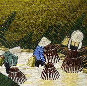 Картины и панно ручной работы. Ярмарка Мастеров - ручная работа Вьетнамские мотивы. Handmade.