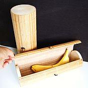"""Инструменты для кукол и игрушек ручной работы. Ярмарка Мастеров - ручная работа тубус  """"Бамбуковый узкий коричневый"""" 27х8 см. Handmade."""