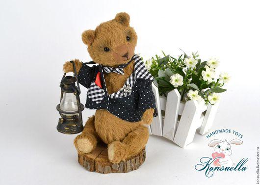 Мишки Тедди ручной работы. Ярмарка Мастеров - ручная работа. Купить Сашок Мишка Тедди. Handmade. Коричневый, медвежонок