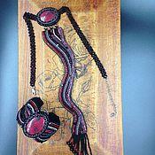 Украшения handmade. Livemaster - original item Set of Office tango. Handmade.