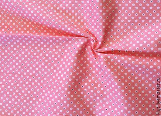 Шитье ручной работы. Ярмарка Мастеров - ручная работа. Купить Ткань розовая(50х50см). Handmade. Ткань для творчества, ткань для шитья, тильда