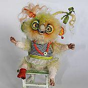 Куклы и игрушки ручной работы. Ярмарка Мастеров - ручная работа Веселый Жутик Нюся.. Handmade.