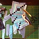 Текстиль, ковры ручной работы. Бирюза. Оксана Сергеева Шитие мое. Ярмарка Мастеров. Небо, лоскутная техника, геометрия