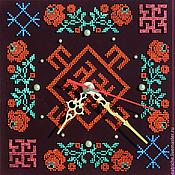 Для дома и интерьера ручной работы. Ярмарка Мастеров - ручная работа Часы- оберег для женского здоровья. Handmade.