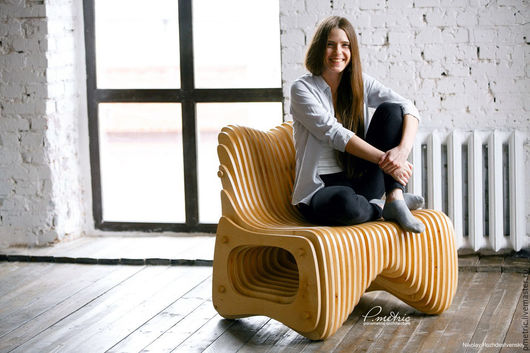 Мебель ручной работы. Ярмарка Мастеров - ручная работа. Купить Кресло. Handmade. Комбинированный, кресло