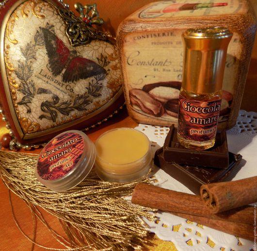 """Натуральные духи ручной работы. Ярмарка Мастеров - ручная работа. Купить """" Cioccolato amaro """"   натуральные духи. Handmade."""