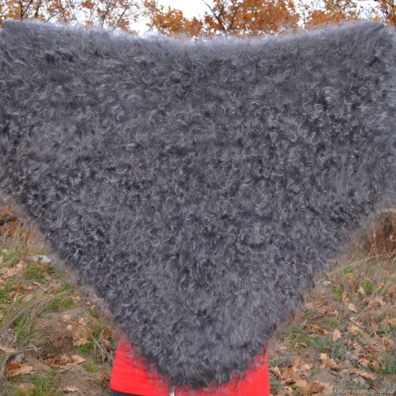 Шикарная пуховая косынка связана из Урюпинского козьего пуха Придонской породы коз!