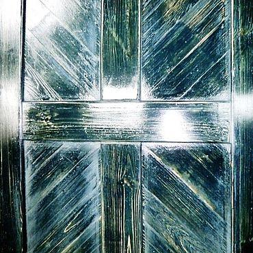 Для дома и интерьера ручной работы. Ярмарка Мастеров - ручная работа Двери деревянные лофт. Handmade.