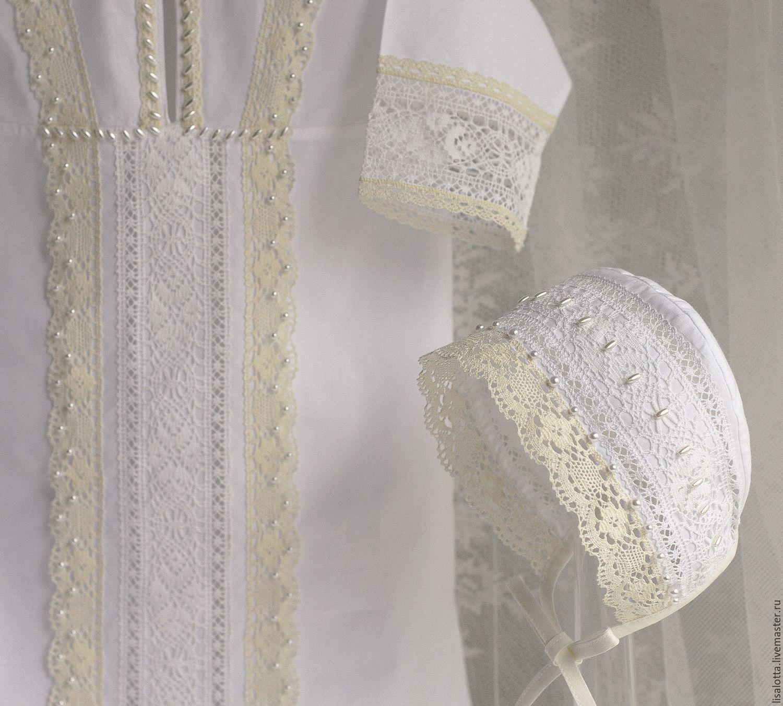 Крестильный набор, крестильный комплект,наряд для крещения, крестильный наряд, крестильная рубашка, одежда для крещения, одежда для новорожденных, крестины, крещение, крестильная одежда