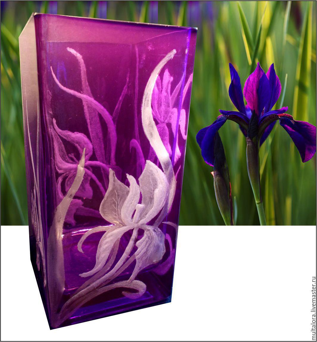 "ваза ""Ирисы"""