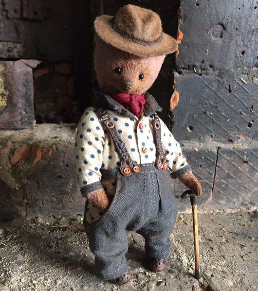 Мишки Тедди ручной работы. Ярмарка Мастеров - ручная работа. Купить Итальянец. Handmade. Тедди, тедди медведи