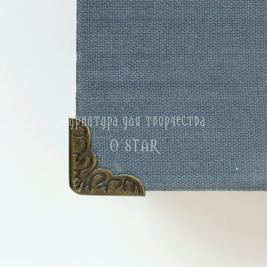 Открытки и скрапбукинг ручной работы. Ярмарка Мастеров - ручная работа. Купить уголок малый для обложек, альбомов, блокнотов. Handmade.
