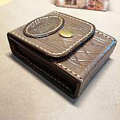 Сумки и аксессуары handmade. Livemaster - original item STYLISH THING 2. leather cigarette case.. Handmade.