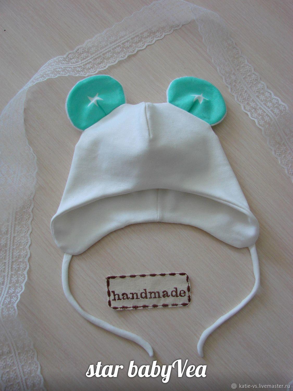 Шьем нарядный чепчик для малышки Ярмарка Мастеров 17