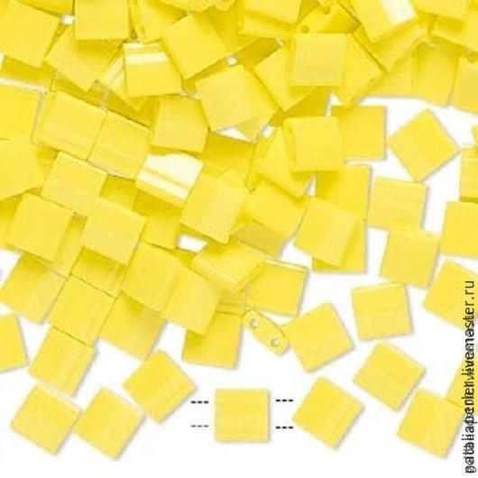 Для украшений ручной работы. Ярмарка Мастеров - ручная работа. Купить Миюки ТИЛА 404 opaque yellow 10гр. Handmade.