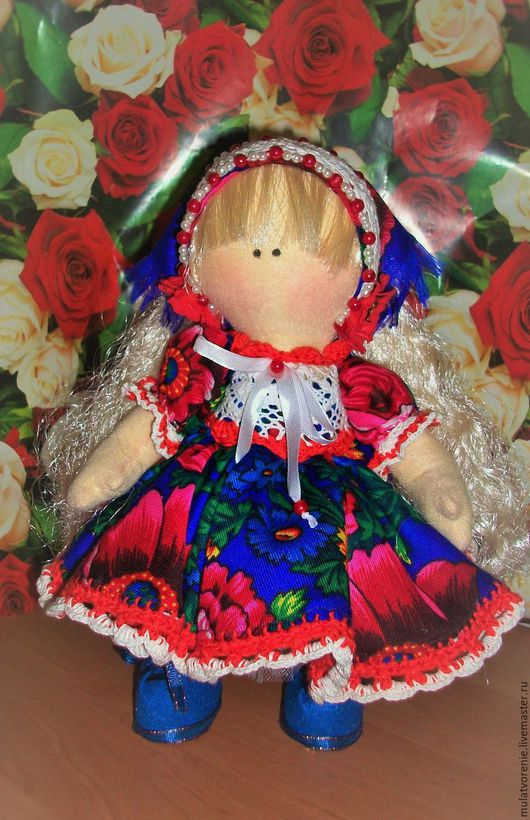 Коллекционные куклы ручной работы. Ярмарка Мастеров - ручная работа. Купить Текстильная кукла Мари. Handmade. Текстильная кукла