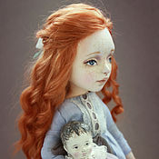 Куклы и игрушки ручной работы. Ярмарка Мастеров - ручная работа Поцелуй солнышка. Handmade.
