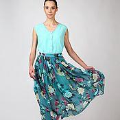Одежда ручной работы. Ярмарка Мастеров - ручная работа Летний комплект юбка и топ. Handmade.