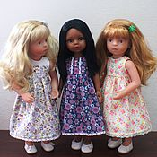 Куклы и игрушки ручной работы. Ярмарка Мастеров - ручная работа Нежное лето - одежда для кукол. Handmade.