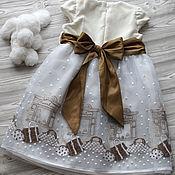Работы для детей, ручной работы. Ярмарка Мастеров - ручная работа Платье Мечта. Handmade.