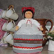 """Для дома и интерьера ручной работы. Ярмарка Мастеров - ручная работа """"Баба"""" на чайник (для Ирины). Handmade."""