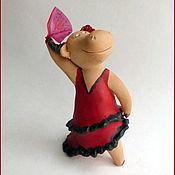 Куклы и игрушки ручной работы. Ярмарка Мастеров - ручная работа Фламенко. Handmade.