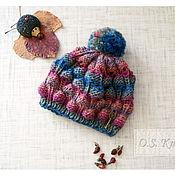 """Работы для детей, ручной работы. Ярмарка Мастеров - ручная работа детская шапка """"Лесные ягоды"""". Handmade."""