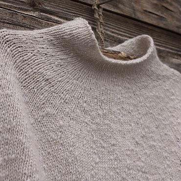 Одежда ручной работы. Ярмарка Мастеров - ручная работа Пончо вязаное шерстяное, накидка, жилет. Handmade.