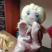 """Кукольный театр ручной работы. Ярмарка Мастеров - ручная работа Кукольный театр: Перчаточная игрушка """"Ангел"""". Handmade."""