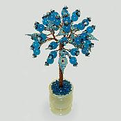 handmade. Livemaster - original item Topaz tree