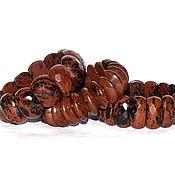 Украшения handmade. Livemaster - original item Bracelets 3 types of natural obsidian (m). Handmade.