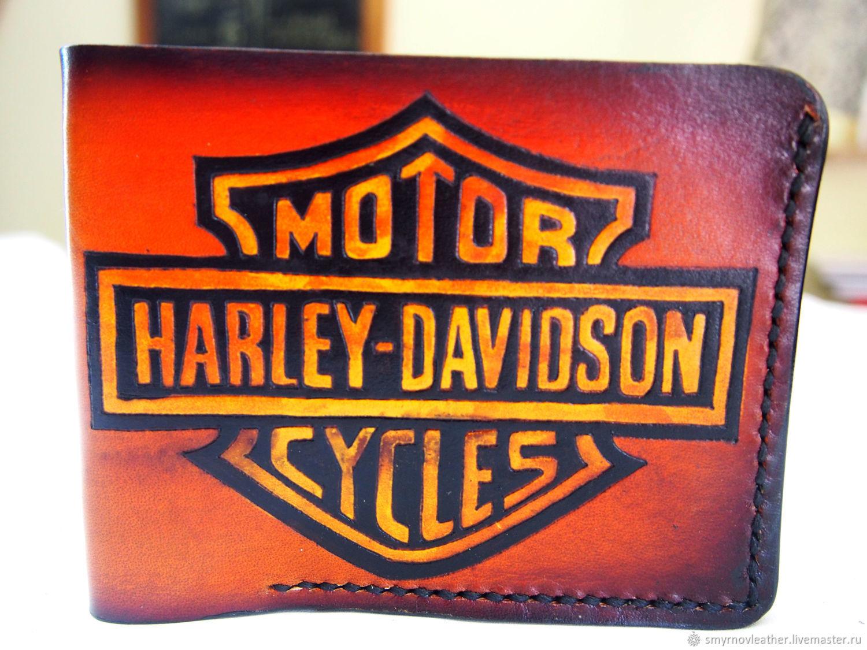 Кожаный кошелек Harley Davidson, Кошельки, Одесса,  Фото №1