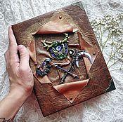 Канцелярские товары ручной работы. Ярмарка Мастеров - ручная работа Блокнот по мотивам игры World of Warcraft.. Handmade.