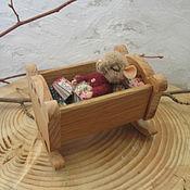 Куклы и игрушки ручной работы. Ярмарка Мастеров - ручная работа крошка-мышонок.миниатюра. Handmade.