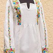 """Одежда ручной работы. Ярмарка Мастеров - ручная работа Блуза женская, вышиванка """"Верховинка"""". Handmade."""