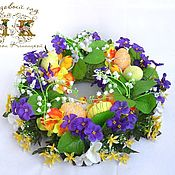 Wreaths handmade. Livemaster - original item Easter wreath, Easter decor, wreath, Easter gift, Easter 2019.. Handmade.